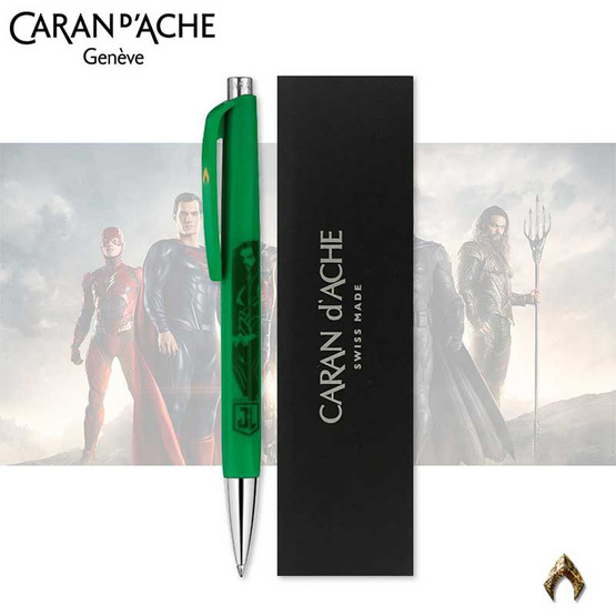 Caran d'Ache ปากกาลูกลื่น 888 อินฟินิท รุ่น Justice League - Aquaman