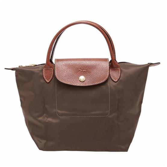 Longchamp กระเป๋า Le Pliage Small handbag - Taupe [MC1621089015]