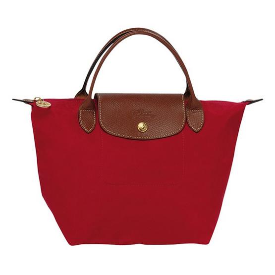 Longchamp กระเป๋า Le Pliage Small handbag - Rouge [MC1621089545]