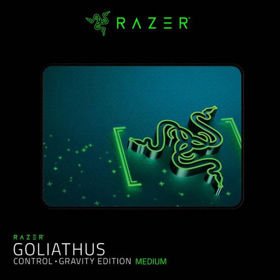 Razer แผ่นรองเมาส์ Gaming  Gravity Medium Control