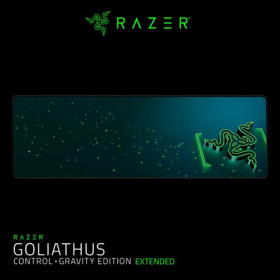 Razer แผ่นรองเมาส์ Gaming Gravity Extended Control