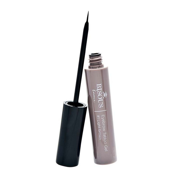 Bisous Bisous Love Blossom Eyebrow Tattoo Gel 6g #1 Light Brown