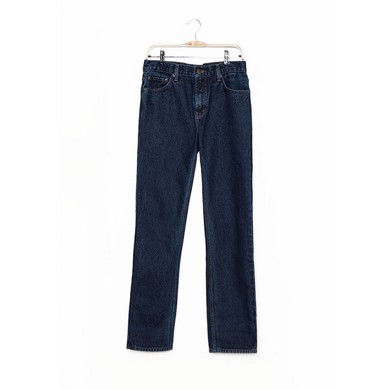 BJ JEANS กางเกงยีนส์ รุ่น BJMRH-7111 #Classic Straight Washed กรมท่า