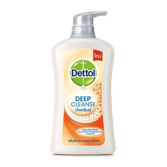 เดทตอล เจลอาบน้ำ สูตรดีพคลีนส์ 450 มล