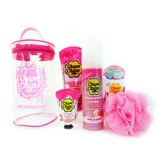 Chupa chups Gift Set Family Strawberry