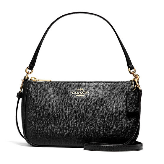 COACH กระเป๋า F25591 TOP HANDLE POUCH