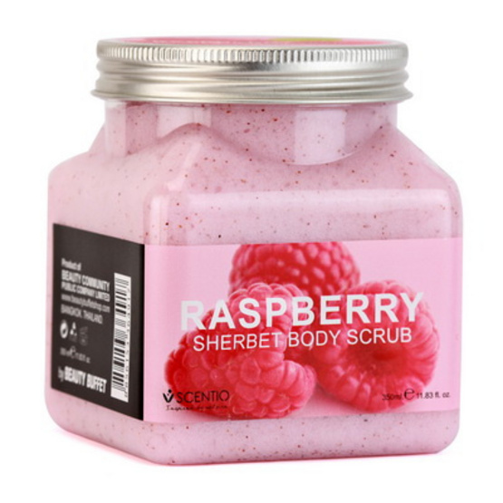 Beauty Buffet Raspberry Pore Minimizing Sherbet Scrub 350 ml.