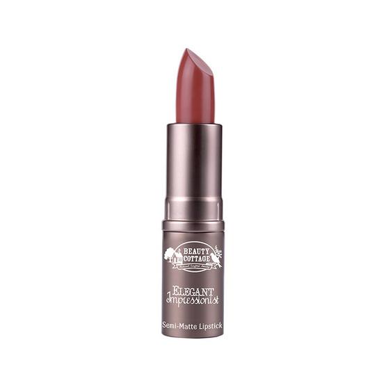 Beauty cottage elegant semi matte lipstick #17
