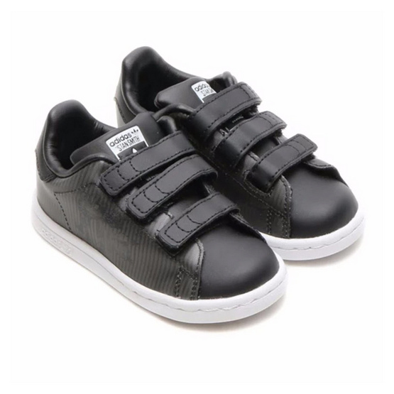 ADIDAS รองเท้าเด็ก STAN SMITH AT-AT CF I B24725 ดำ