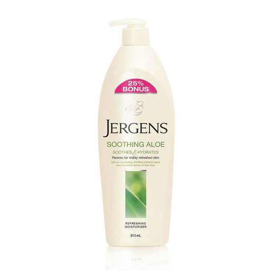 Jergens Soothing Aloe 813 ml.