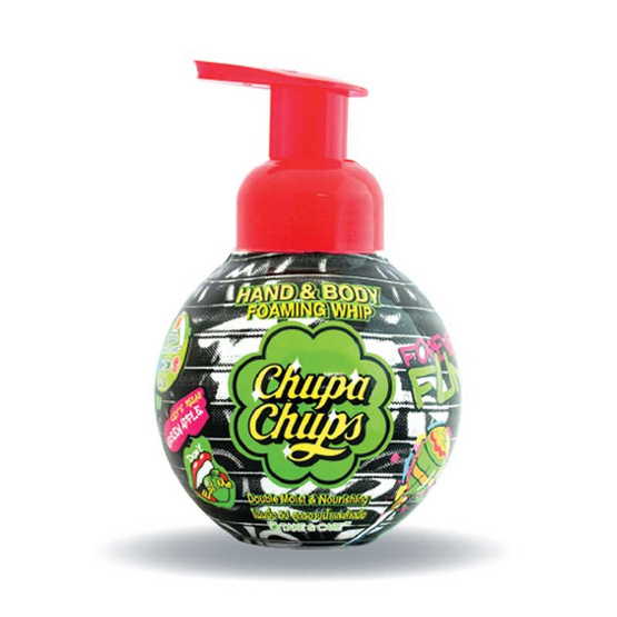 Chupa Chups โฟมอาบน้ำแอปเปิ้ลเขียว 350 มล.