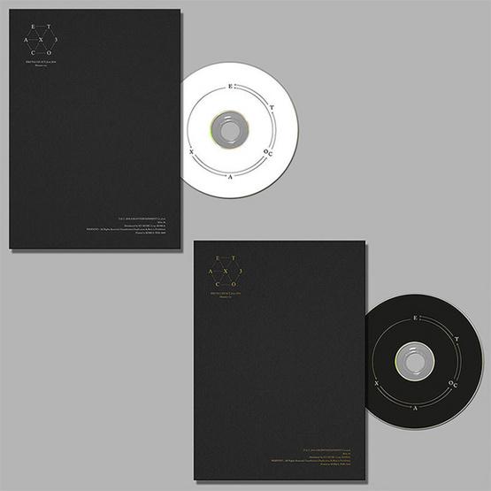 CD แพ๊คคู่ EXO EXACT monster (เกาหลี+จีน Ver.)