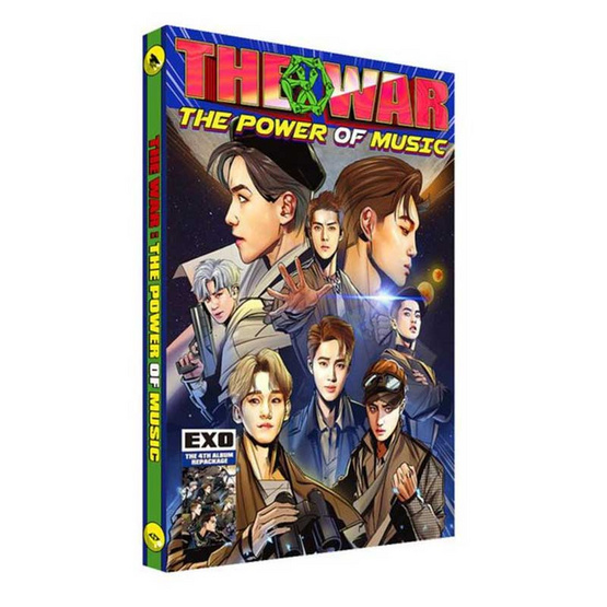 CD EXO 4th Repackage Album The War - THE POWER OF MUSIC (Korean Ver.) [Import]