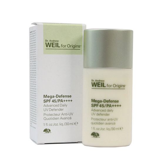 ORIGINS DR. ANDREW WEIL MEGA-DEFENSE SPF 45/PA++++ ADVANCED DAILY UV DEFENDER 30 ML