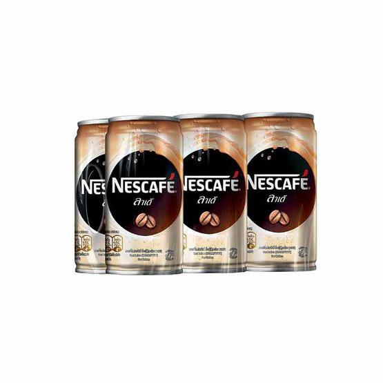 Nescafe กาแฟกระป๋อง ลาเต้ 180 มล.