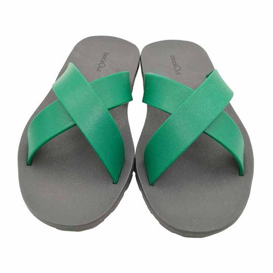 BlackOut รองเท้า รุ่น Cross เทา เขียว