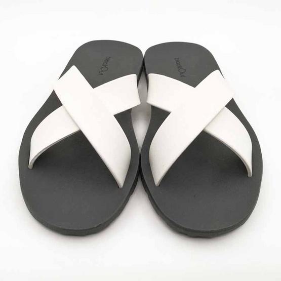 BlackOut รองเท้า รุ่น Cross เทา ขาว