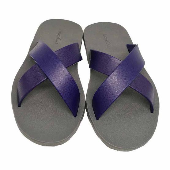 BlackOut รองเท้า รุ่น Cross เทา กรม