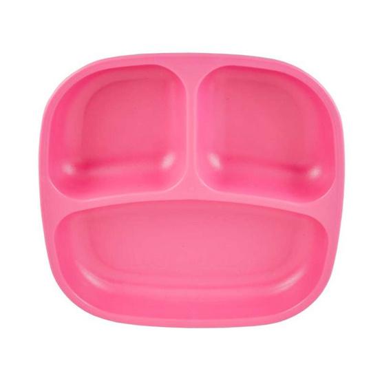 Re-Play จานหลุมสำหรับเด็ก สีชมพูเข้ม
