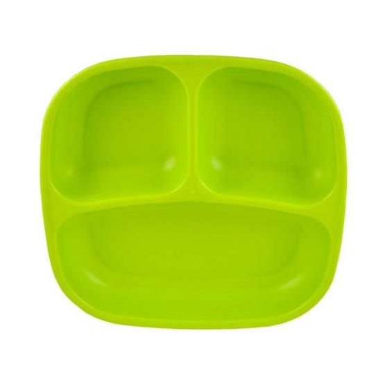 Re-Play จานหลุมสำหรับเด็ก สีเขียวอ่อน