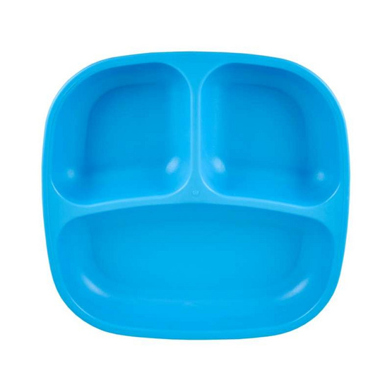 Re-Play จานหลุมสำหรับเด็ก สีฟ้า