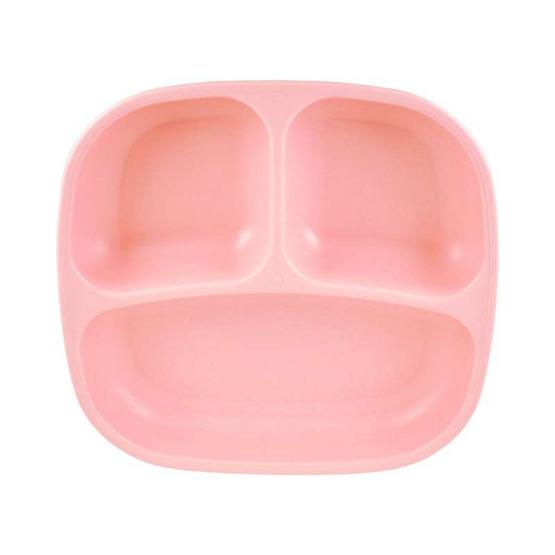 Re-Play จานหลุมสำหรับเด็ก สีชมูอ่อน
