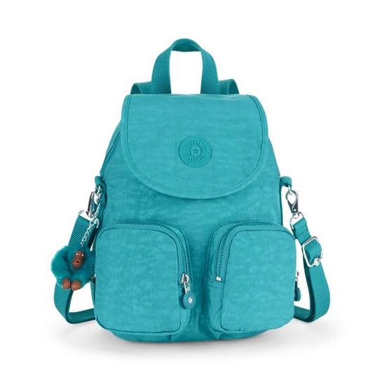 Kipling กระเป๋าเป้ Firefly UP #Turquoise Dream