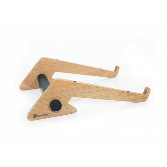 Be Concept Laptop Stand Natura 1100 Solid Wood