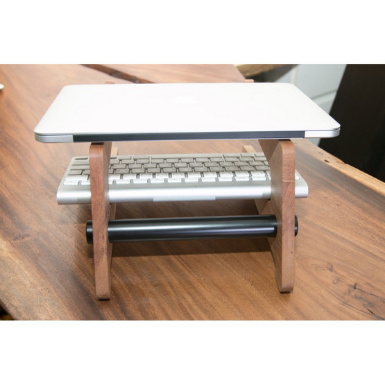 Be Concept Laptop Stand Natura 1200 Solid Wood