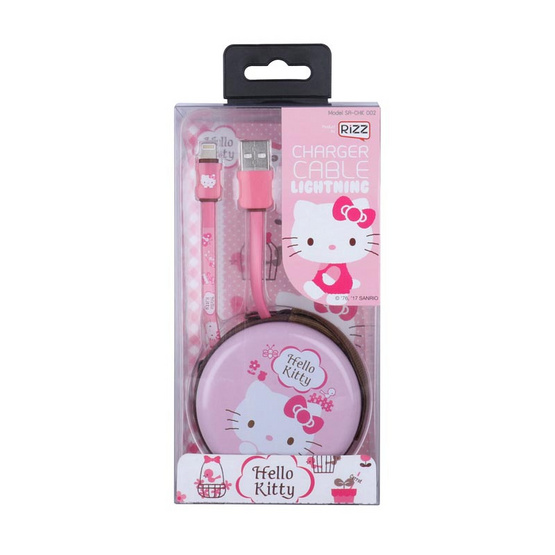 Rizz สายชาร์จ Hello Kitty Lightning USB for iPhone SA-CHK-002