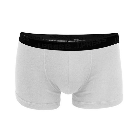 J Press กางเกงชั้นในชายเจเพรส ทรงทรั้งค์ No.4301/WHWH 2ตัว/เซ็ท สีขาว