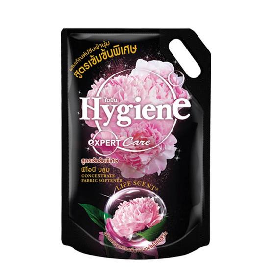 ไฮยีน ผลิตภัณฑ์ปรับผ้านุ่มเข้นข้น กลิ่นพีโอนี บลูม 1,400 มล.