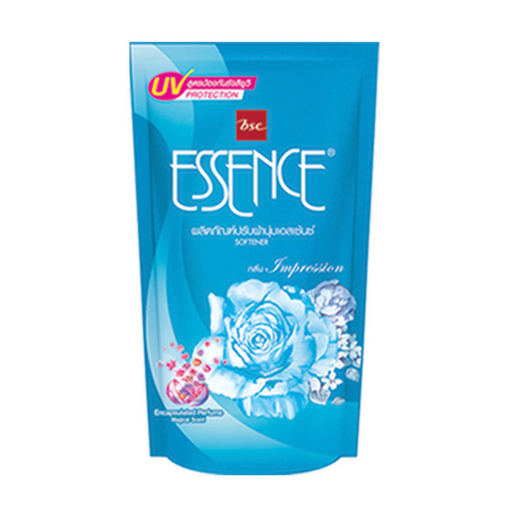 Essence น้ำยาปรับผ้านุ่ม กลิ่นอิมเพรสชั่น 600 มล. สีฟ้า