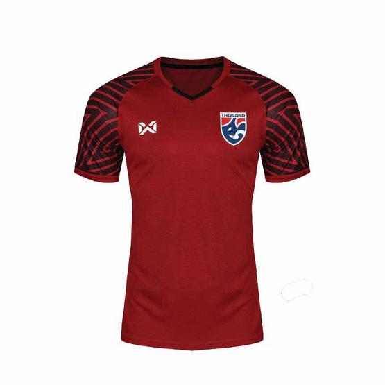 Warrix เสื้อเชียร์ทีมชาติไทยสีแดง ผู้ชาย