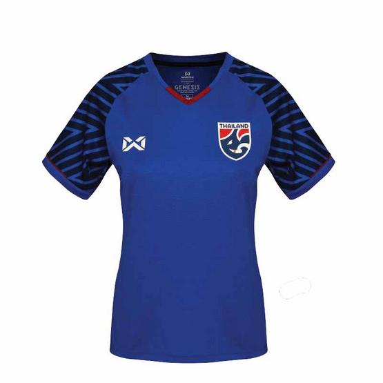 Warrix เสื้อเชียร์ทีมชาติไทยสีน้ำเงิน ผู้หญิง