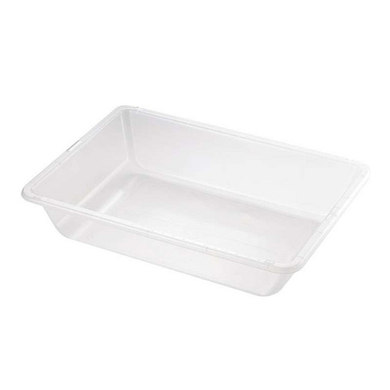 EDX Education Desk Top Water Tray-Clear