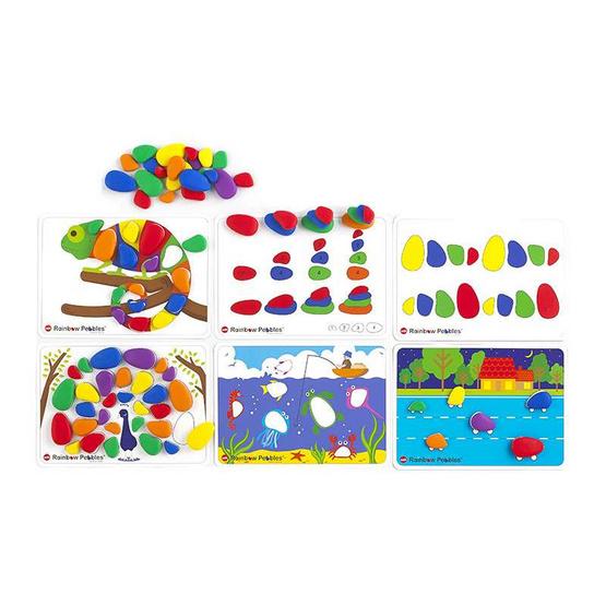EDX Education Rainbow PebblesActivitySet