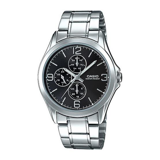 CASIO นาฬิกาข้อมือผู้ชาย รุ่น MTP-V301D-1AUDF