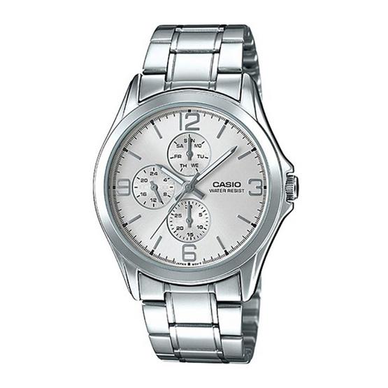 CASIO นาฬิกาข้อมือผู้ชาย รุ่น MTP-V301D-7AUDF