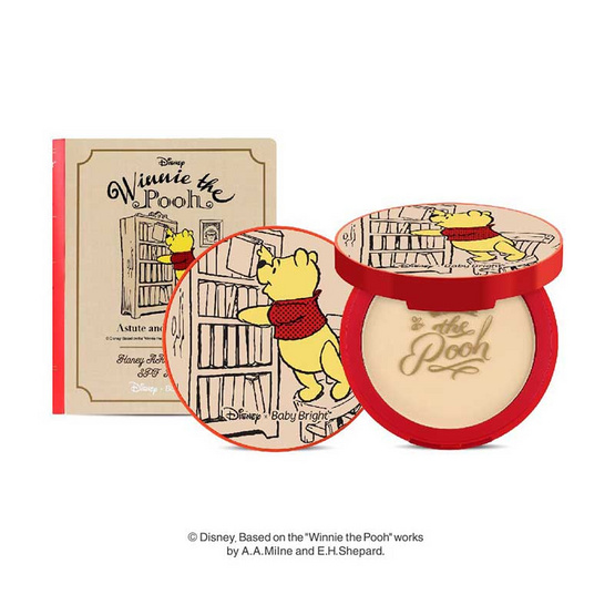 Baby Bright Disney Winnie the Pooh Honey AA Powder # 23 Natural Bright