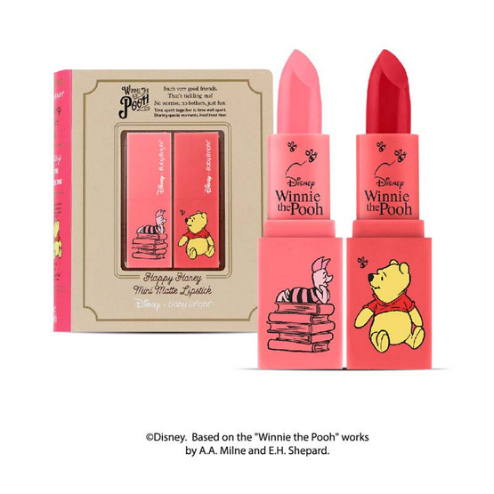 Baby Bright Disney Winnie the Pooh Happy Honey Mini Matte Lipstick #Sweet Story