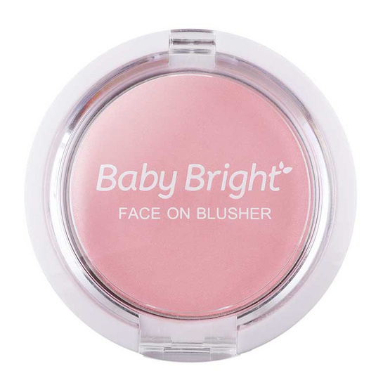 Baby Bright Face On Blusher 5 กรัม #01 Cherry Blossom