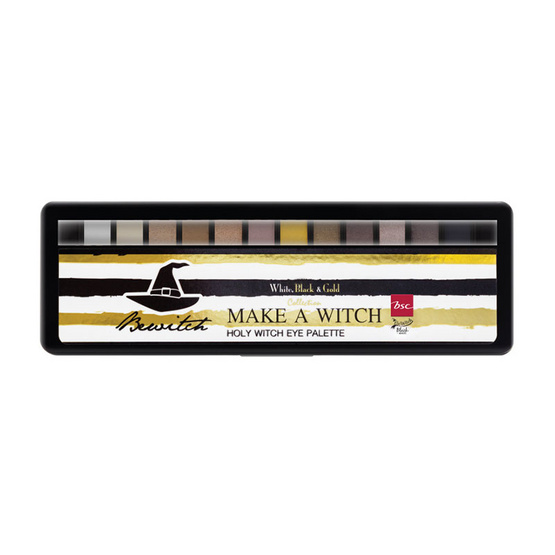 BSC BEWITCH BLACK MAGIC BY BSC HOLY WITCH EYE PALETTE #XN