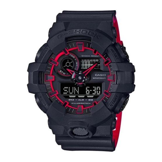 G-Shock นาฬิกาข้อมือ Analog-Digital รุ่น GA-700SE-1A4DR