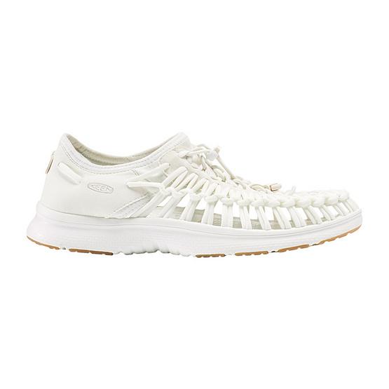 KEEN รองเท้าผู้หญิง W-UNEEK O2 WHITE/HARVEST GOLD