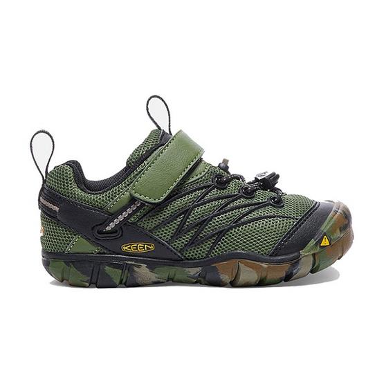 KEEN รองเท้าเด็ก รุ่น C-CHANDLER CNX CRUSHED BRONZE GREEN