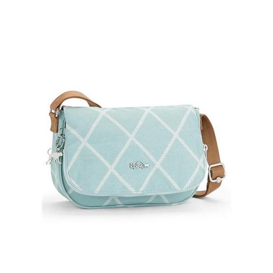 Kipling กระเป๋า Earthbeat S - Mint Quilt Pr