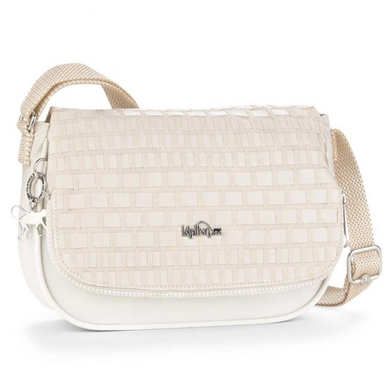 Kipling กระเป๋า Earthbeat S - White Weave