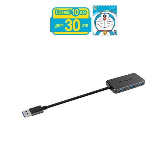 Transcend USB HUB TS-HUB2K USB 3.0 4 Ports Black
