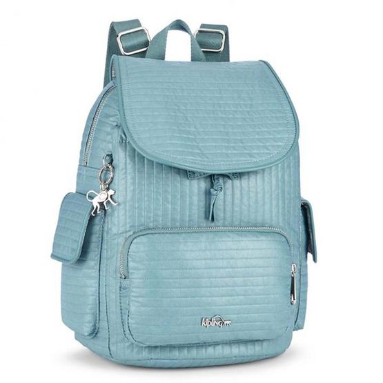 Kipling กระเป๋าเป้ City Pack S - Misty Blue